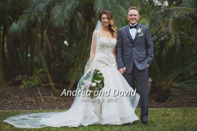 Andrea & David's St. Raphael Catholic Church and Morean Center for Clay Wedding