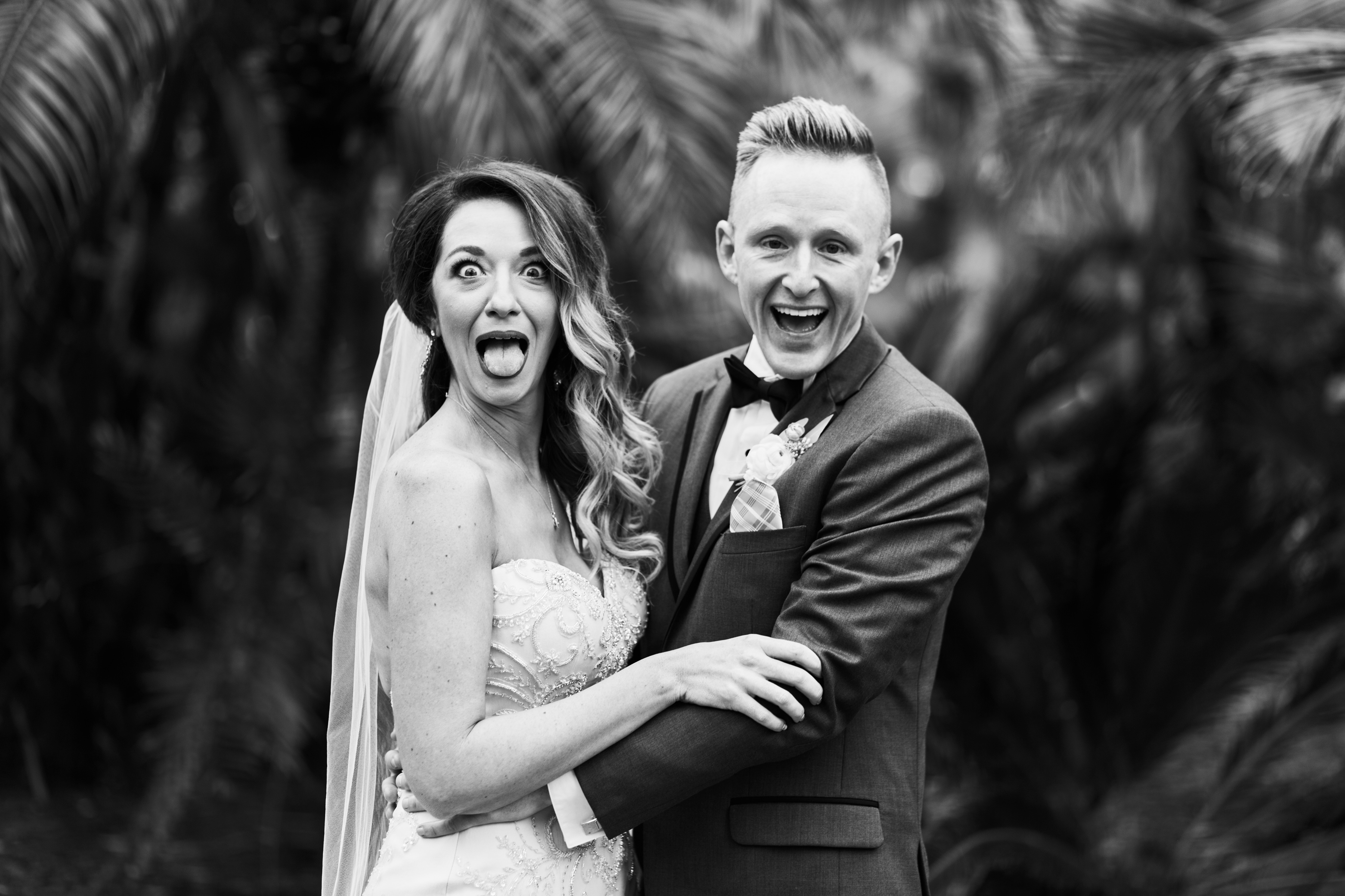 you can be silly with elopement photography