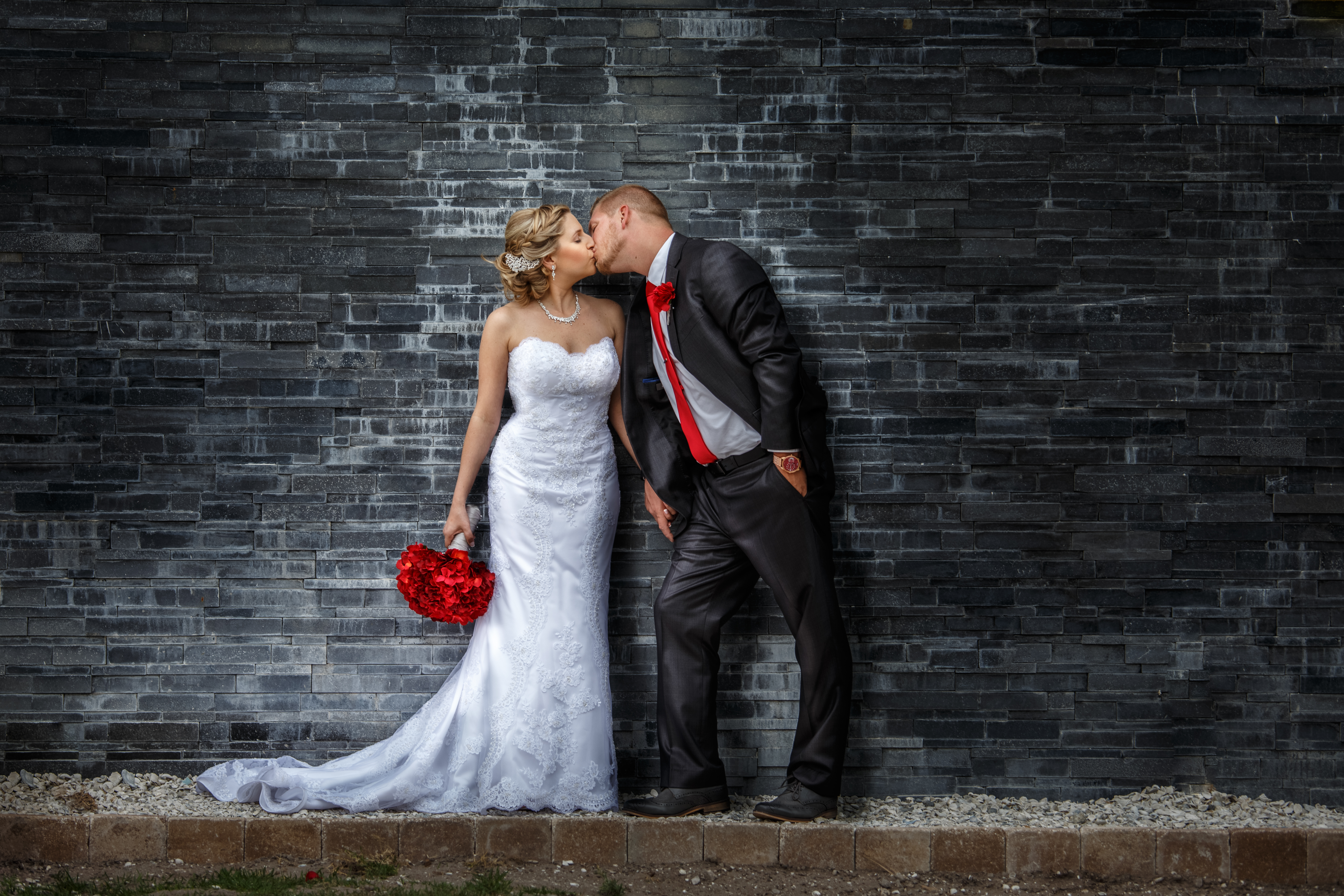 all we need is a wall for elopement photography