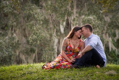 Philippe Park Engagement Session – Nancy and Dave
