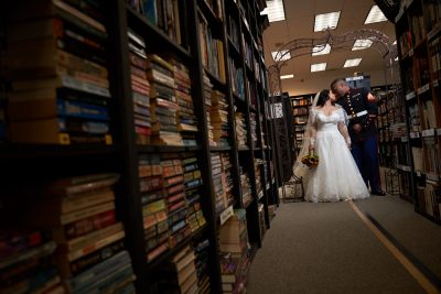 Sandman Book Company Wedding – Abigail and Deondré