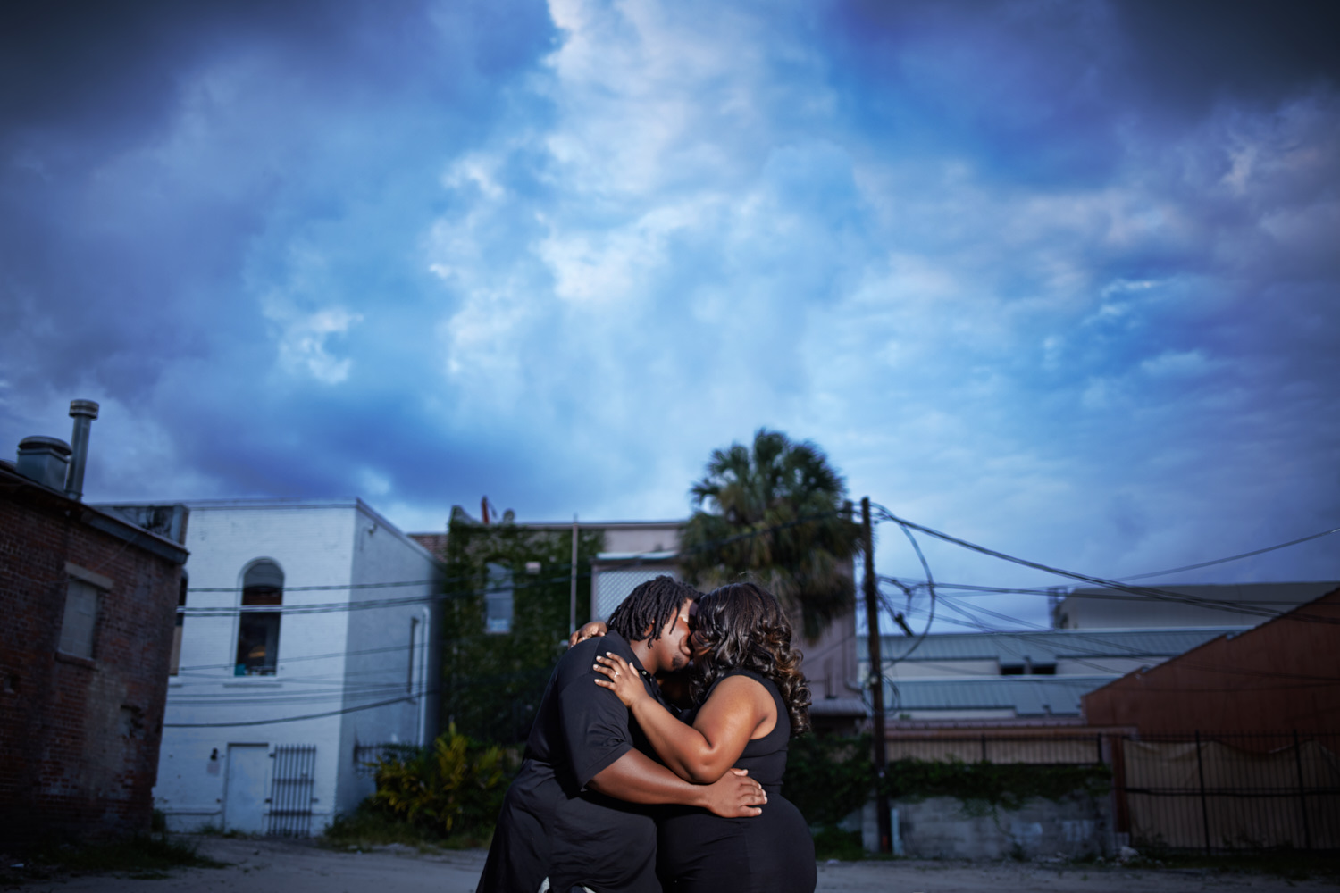 ybor city engagement session