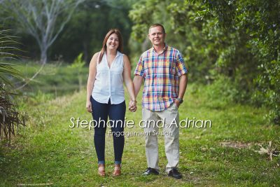 Stephanie and Adrian's Sawgrass Lake Park Engagement Session